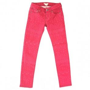 Джинсы прямые Roxy Sea G Pant Good Morning Ikat Re, 1155431,  Roxy, цвет фиолетовый