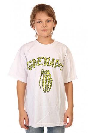 Футболка детская Grenade Bones White, 1132427,  Grenade, цвет белый