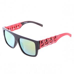 Очки TrueSpin Las Cadenas Black/Light Red, 1102769,  TrueSpin, цвет красный, черный