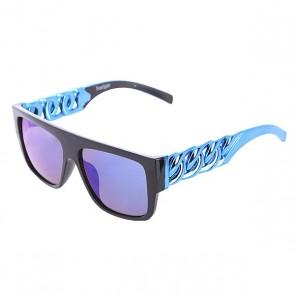 Очки TrueSpin Las Cadenas Black/Blue, 1102773,  TrueSpin, цвет голубой, черный
