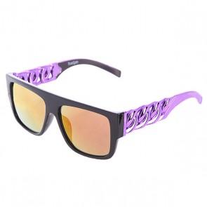 Очки TrueSpin Las Cadenas Black/Purple, 1102776,  TrueSpin, цвет фиолетовый, черный