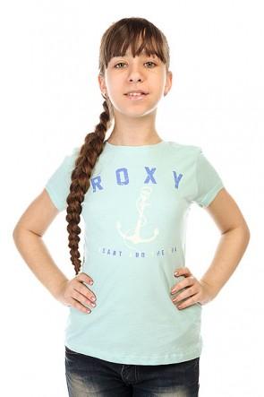 Футболка детская Roxy Rgcrewanchor Tees Harbor Gray, 1143517,  Roxy, цвет голубой