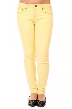Джинсы прямые детские Roxy Desert Pant Golden Haze, 1143555,  Roxy, цвет желтый
