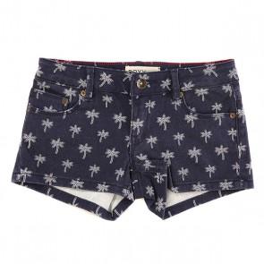 Шорты джинсовые детские Roxy Lysi Dnst Mini Little Palm Tre, 1143564,  Roxy, цвет синий