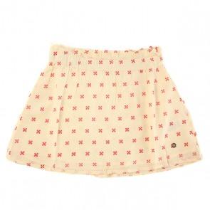 Юбка детская Roxy Welcome Wvsk Sun Dots Combo Sand, 1143567,  Roxy, цвет бежевый
