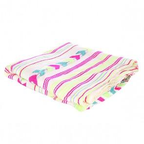 Полотенце женское Billabong Costal Vibez White, 1116310,  Billabong, цвет бежевый, голубой, розовый