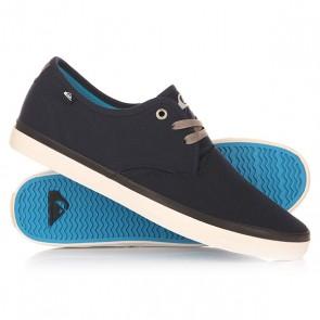 Кеды кроссовки низкие Quiksilver Shorebreak M Shoe Xbbw Blue/Blue/White, 1148660,  Quiksilver, цвет синий