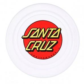 Фрисби Santa Cruz Classic Dot Flyer White, 1090012,  Santa Cruz, цвет белый