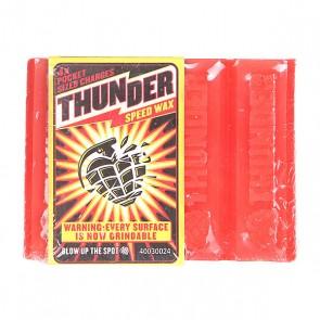 Парафин Thunder Воск Th Curb Speed Red, 1118558,  Thunder, цвет красный