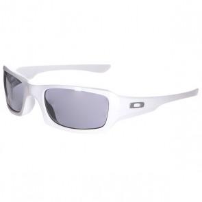 Очки Oakley Fives Squared Polished White/ Black Iridium, 1120384,  Oakley, цвет белый