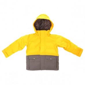 Куртка детская Burton Boys Hot Spot Jk Yolky/Bog, 1155632,  Burton, цвет желтый, серый