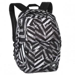 Рюкзак городской Converse Ctas Backpack Black/White, 1157483,  Converse, цвет белый, черный