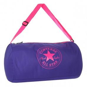 Сумка спортивная женская Converse Standard Duffel Poly Blue/Pink, 1157491,  Converse, цвет розовый, синий
