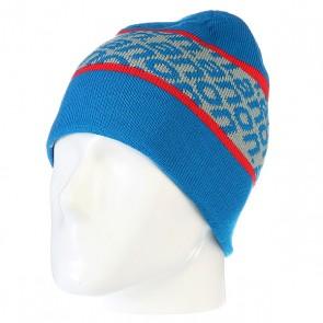 Шапка двусторонняя детская Anon Parkview Beanie Blue, 1106103,  Anon, цвет голубой, красный, серый
