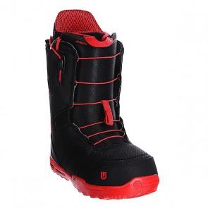 Ботинки для сноуборда Burton Ambush Black/Red, 1106302,  Burton, цвет красный, черный
