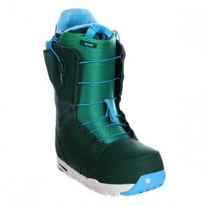 Ботинки для сноуборда Burton Ruler Jungle Rain, 1106303,  Burton, цвет голубой, зеленый