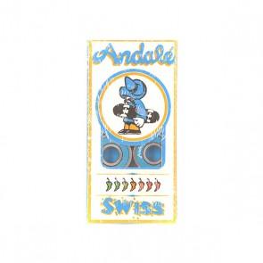 Подшипники для скейтборда Andale Swiss Blue, 1150867,  Andale, цвет синий