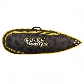 Чехол для вейксерфборда Sticky Bumps Single Boarding 5.0 Black/Green, 1153407,  Sticky Bumps, цвет зеленый, черный