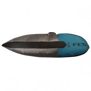 Чехол для вейксерфборда FCS Dayrunner Hybrid 5.6 Pro Blue, 1153408,  FCS, цвет серый, синий