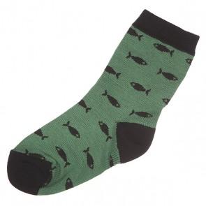 Носки средние детские Запорожец Детские Green, 1135750,  Запорожец, цвет зеленый, черный