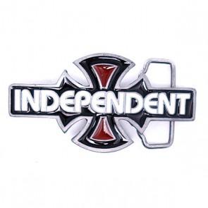 Пряжка Independent O.G.B.C. White/Black/Red, 1017231,  Independent, цвет черный